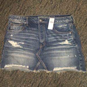 American Eagle Denim Skirt NWT